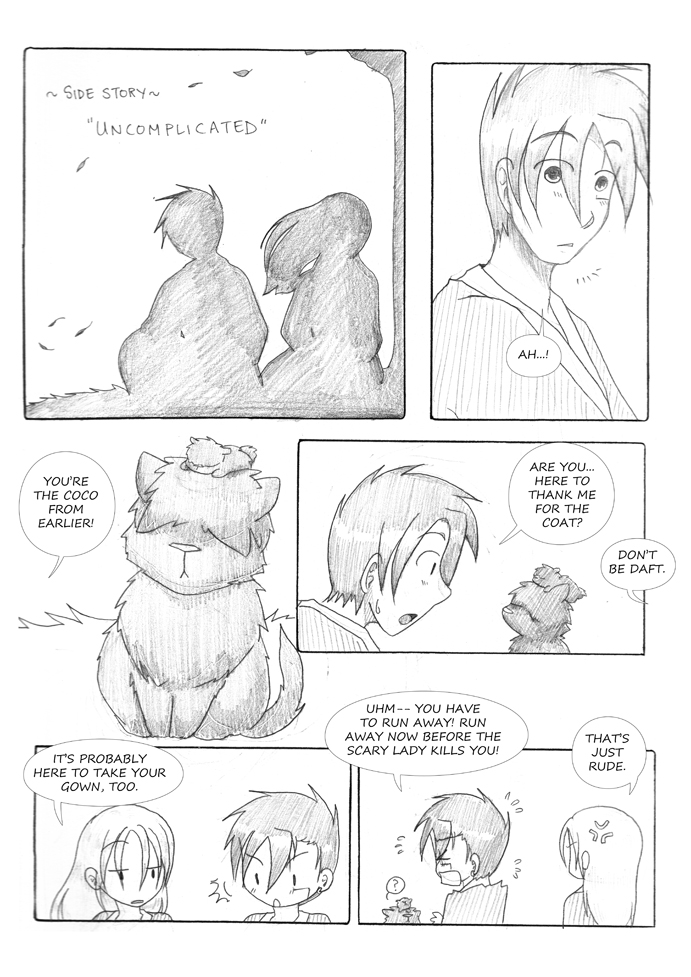 Side story: Uncomplicated, page 1